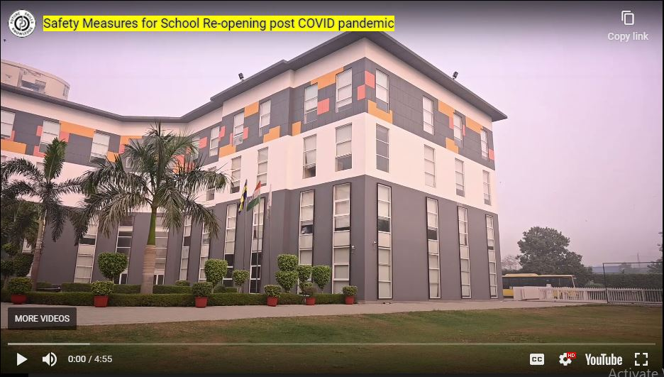 Safety Measures for School re-opening post Covid Pandemic